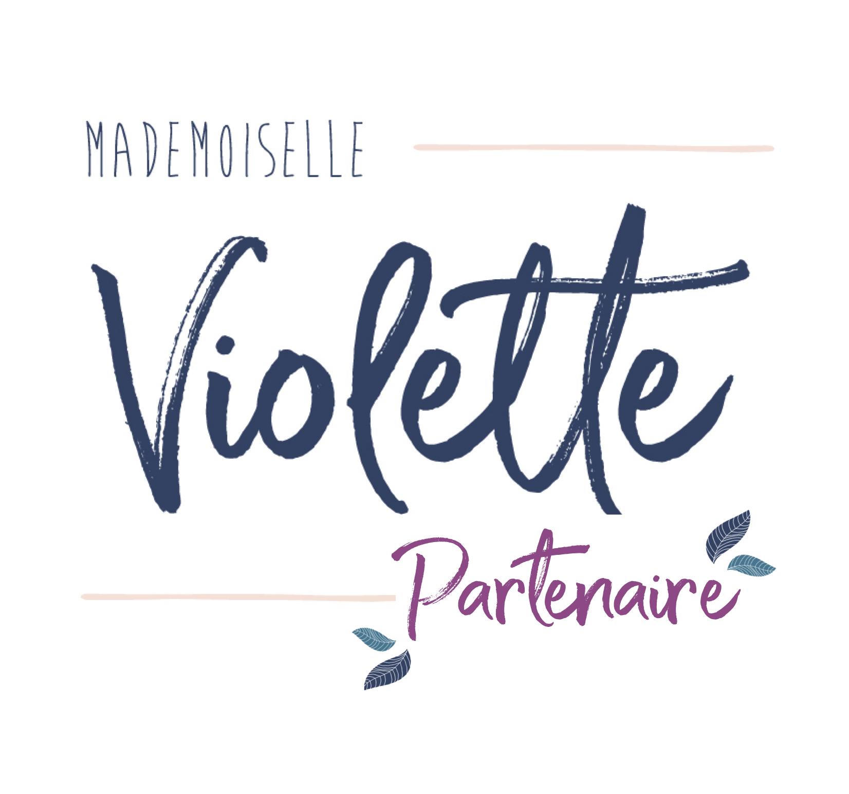 M'zelle Violette Partenariat
