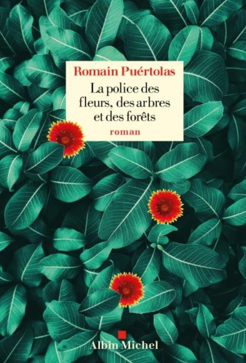 """Livre """"La police des fleurs, des arbres et des forêts"""". fleurs sauvages"""
